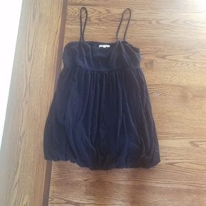 alice + olivia Bubble Hem Babydoll Dress